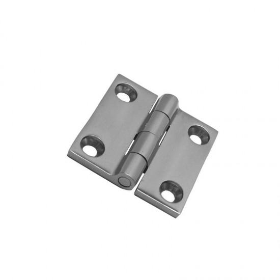 5x stainless steel folio hinge A4 38X38