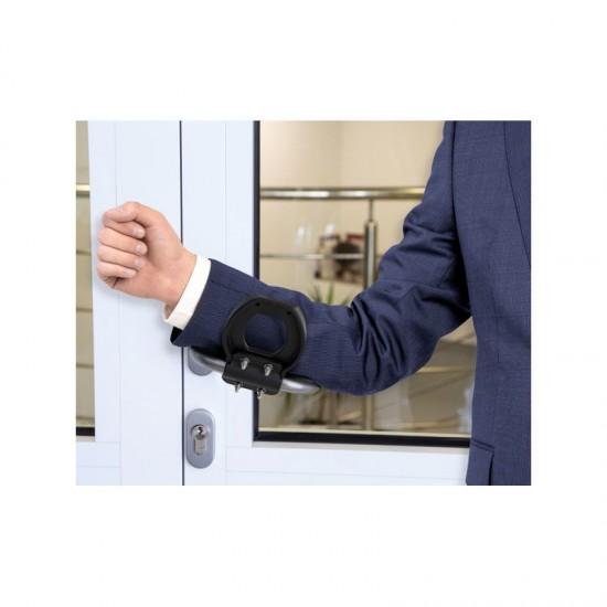TR Fastenings L-Bow Handle - Hands-Free Door Opener
