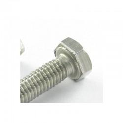 Machine Screws Stainless steel A2 hex head 8X25 DIN 933 | One-piece * 100