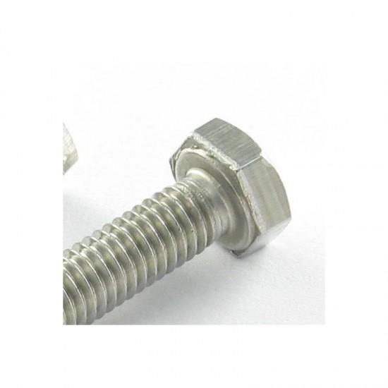Machine Screws Stainless steel A2 hex head 8X25 DIN 933   One-piece * 100