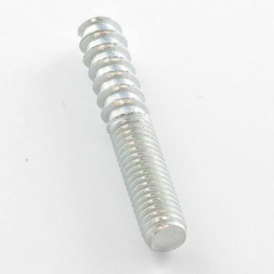Bolt 4X35 25 wood thread 3 smooth part 7 thread machine galvanized*100