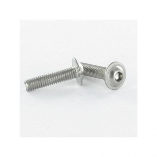 Machine screw hexagonal screw pan head cap 4X16 hexagonal screw 2.5 stainless steel A2 ISO7380F   Integral * 100