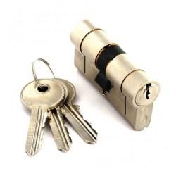 S2056 Anti-cock-in anti-collision European cylinder brass 3 keys 35 x 35mm set of 1 key
