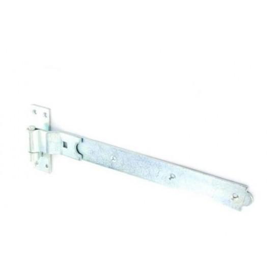 S4656 Zinc plated crank belt and hook 350mm 14