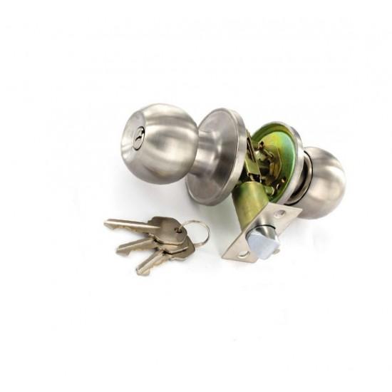 S2953 Stainless Steel Door Lock 60/70mm Set (1 Set)