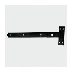 HBS400B Hook & Loop Straight Pair 400mm Black